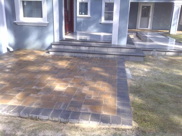 PAVERS AND CONCRETE